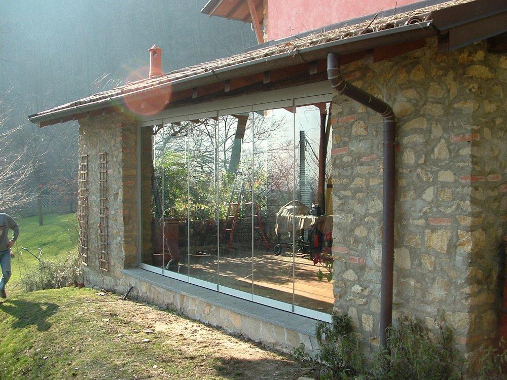Photogallery verande porticati pergole for Piani portico di tre stagioni