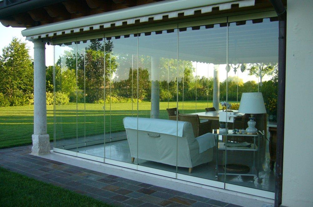 Photogallery verande porticati pergole for Portico anteriore a trave aperta