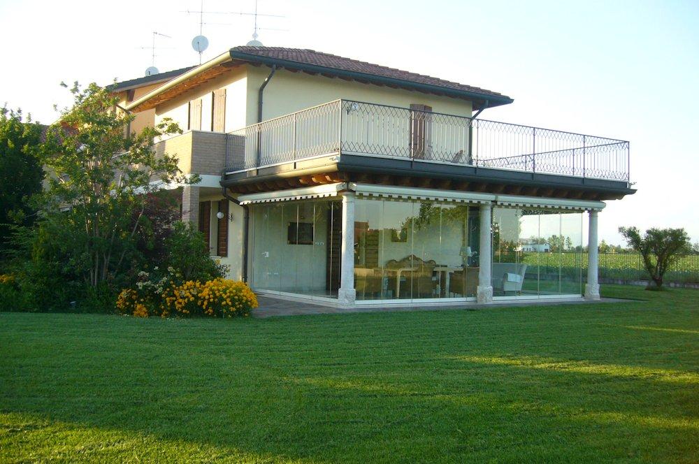 Chiusura Terrazzo Con Serramenti – TrISeB
