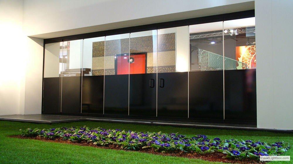 Pareti In Vetro E Alluminio : Divisori per interni pareti mobili tutto ...