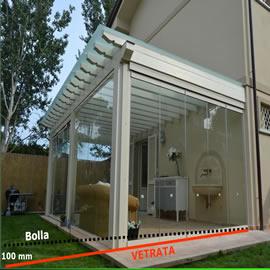 Gm morando approfondimento le verande for Disegni del portico laterale