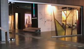 Divisori per interni pareti mobili tutto vetro - Porta divisoria zona notte ...